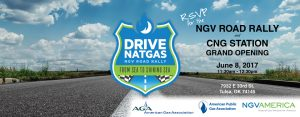 NGV Road Rally & CNG Station Grand Opening @ City of Tulsa - 33rd & Memorial CNG Station