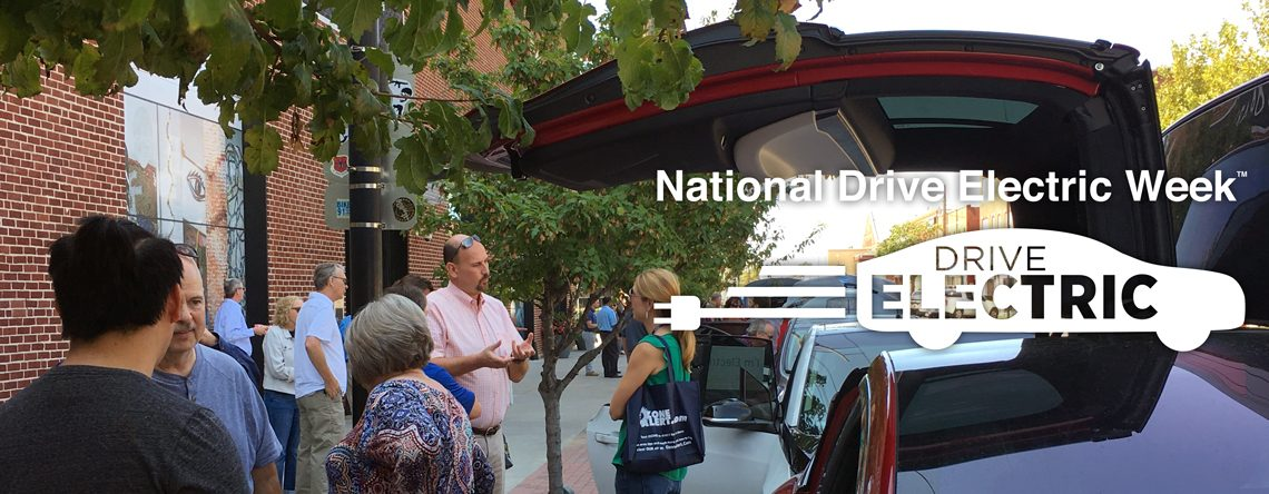 National Drive Electric Week – Earth Day