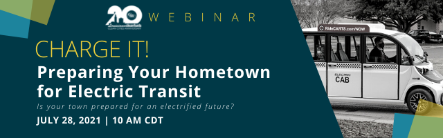 Webinar: Charge It! Preparing Your Hometown for Electric Transit